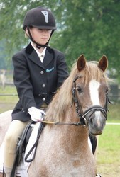 ponyhoeve favorite met dorien national show 2009 first ridden